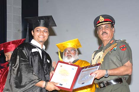 Chief Guest: Hon. Lieutenant General A. K. Singh